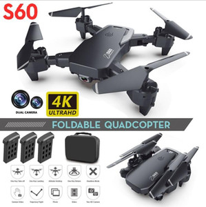 Новый беспилотник 4K Profession HD широкоугольная камера 1080P WiFi FPV беспилотница двойная камера высота камеры Держите драты камеры вертолет игрушки