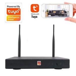 wdskivi Mini Tuya Smart Life Newest NVR Full 1080p HD 4Ch 8Ch H.265 Security Wifi Wireless CCTV NVR 1080P For IP Camera System1