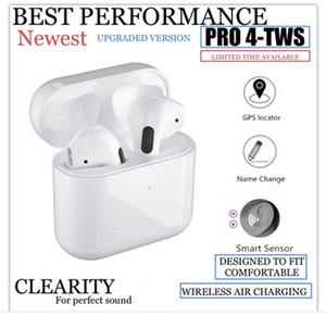 Mini Pro 4 TWS سماعات بلوتوث Hi-Fi سماعات لاسلكية AirPodding في الأذن سماعات ستيريو