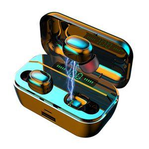 G6S Wireless Headset 3500mAh Bluetooth Earphone TWS Earbuds Handsfree Headphones with Microphone Noise Canceling Headphone