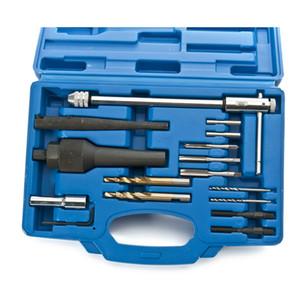 Damaged Glow Plug Removal Remover Tool & Thread Repair Tool Kit 8mm 10mm