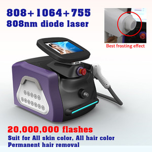 2021 Best 808nm Diode Laser Hair Removal Machine High Quality Lazer Epilation Laser Diode Hair Removal Machines Permanent and painless