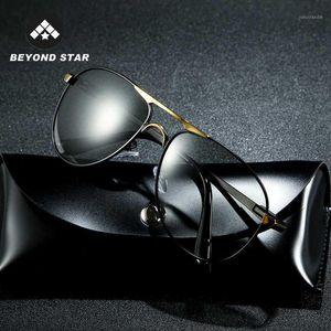 Sunglasses 2021 Polorized Pochromic Men Aviation Glasses For Driving Color Changing Sunglass Lunette Soleil Homme G87221