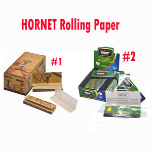 70mm King size Hornet Rolling Paper Pure Premium Rolls Prerolls Pre-rolls Cones Blunt Rolling Paper
