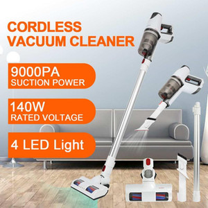 Cordless Vacuum Cleaner Handheld Stick Bagless Cleaner Carpet Dust Collector Floor Brush Filtration One-button Dust Removal