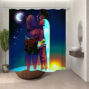 Black Couple Black Love African American Couple Lover Man Kiss Woman in Night