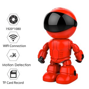 HD 1080P Wifi Robot ip camera For home security Baby Monitor App Pan Tilt Remote Control Wireless Indoor cctv camera