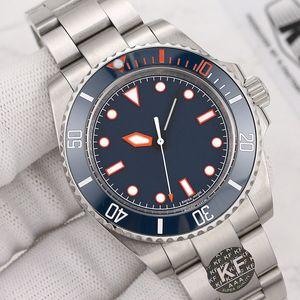 Moda negra para hombre cerámica bisel mujeres pulsera señora maestro automático mecánico movimiento reloj luminoso diamante relojes relojes 2021