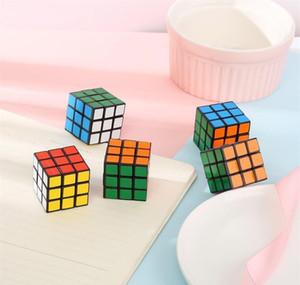 Puzzle Cube маленький размер 3 см мини волшебный кубик Игра обучение образовательные игры Magic Cube хорошая подарок игрушка de jlljne mx_home