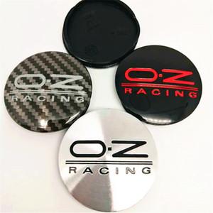 4PCS 55MM M582 OZ Racing Car Wheel Center Hub Cap Wheel Dust-proof covers wheel Badge covers