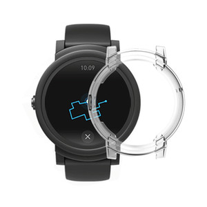 Plating TPU cover Case for Tic watch E strap band soft Plated Protector bumper Tic watchE case