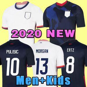 월드컵 2020 Pulisic Soccer Jersey Ertz Bradley Pugh Lloyd Altidore 2021 Wood America Football Jerseys 미국 셔츠 Camisetas