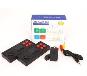 The new 2.4 wireless USB console incorporates classic retro games and video game consoles for home entertainment