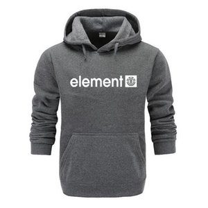 Sleeve Mens Autumn Winter High Sweatshirts Men 2019 New ELEMENT Letter Printing Long Quality Hoodies Brand Fashion Jicxr