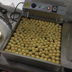 Beliebte kommerzielle Nutzungsanleitung 3-Mold 7,5l Lokma-Donutherstellungsmaschine Donut Donut Ball Maschinenhersteller1