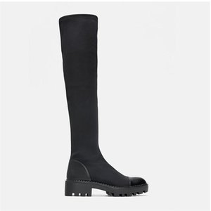 Women's over-the-knee boots new style high boots in autumn and winter fashion stretch all-match designer shoe