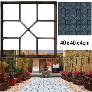 New Path Maker Paving Mould DIY Reusable Patio Concrete Paving Garden Path Molds,15.7
