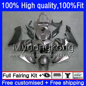 100% Fit For HONDA CBR600F5 CBR600 Titanium blk RR CBR600RR 05 48HM.206 CBR 600RR CBR 600 CC RR 600CC F5 05 06 2005 2006 Injection Fairings