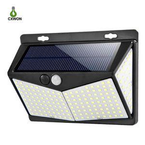 Solar LED Outdoor Light 100LED 114LED 136LED 206LED 208LED 212LED Wireless Solar Lamps PIR Motion Sensor Solar Street Light