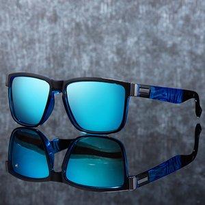 new men's polarized UV400 fashion square ladies glasses classic retro brand design driving sunglasses