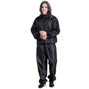 Aeróbicos Ropa Pierde Pantalones Pantalones Fitness Adelgazamiento Pantalones Ropa Sauna Pantalón Sauna Sweating Run Running Gym1