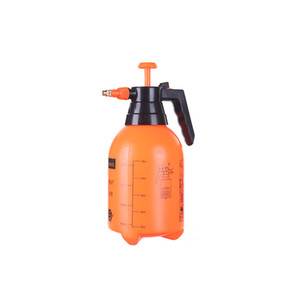 2L Orange Hand Pressure Trigger Sprayer Bottle Adjustable Copper Nozzle Head Manual Air Compression Pump Spray Bottle 1 Pcs Free Fee Tool