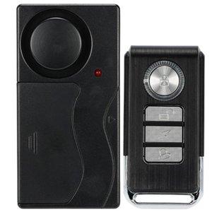 Wireless Remote Control Door Vibration Sensor Alarm Home House Security Door Window Car Sensor Detector with 4 Functions