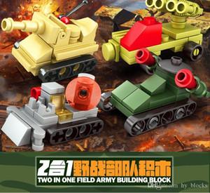 8 estilos Army Car Model Technic Building Blocks Definir Brinquedos de Tijolos de Arma Militar para Kid Assemblage Robot Truck Tank Tank Boy Toy 04