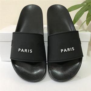 Высочайшее качество слайд Летняя мода Широкие плоские тапочки сандалии калькера флип флоп лучшие дешевые мужские женские сандалии обувь размером 36-46