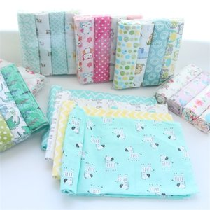 4Pcs Lot 100% Cotton Flannel Swaddles Soft Newborns Blankets Newborn Muslin Diapers Baby Swaddle Wrap Q1121