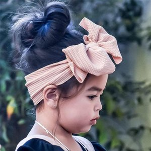 baby headband 1Pc Baby Toddler Girl Bowknot Headband Stretch Hairband Headwear girl #3N07
