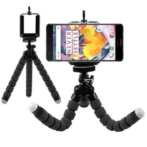 Flexible Octopus Tripod Holder Stand Support for OnePlus 8 7 6T A6010 6 A6000 5T A5010 5 A5000 3T One Plus 3 2 1 X Phone Trestle