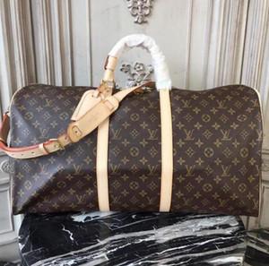 2020 MenLVLOUISVUİTTONWomen Travel Bags Hand Luggage Travel Bag Men Leather Handbags Large Cross Body Bag