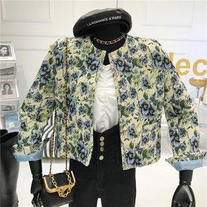 Niche design Retro Blazer Women's Autumn winter 2020 New Short Short Korean Loose Slim Coat Jacket