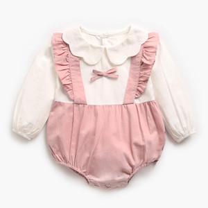 Melario Nette Strampler Baby Mädchen Kleidung Jumpsuit Strampler Kleinkind Neugeborene Outfits Langarm One Piece Overallsuits