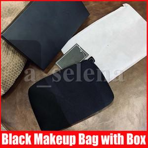 العلامة التجارية المرأة التجميل الحقيبة السفر ماكياج المنظم الجمال حالة محفظة أدوات الزينة حقيبة المرحاض الحقيبة مع هدية مربع