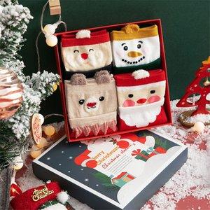 Medias de Navidad Peluche Faux Fur Puff Socks Bolsa de regalo Navidad fiesta de fiesta decoración # 183