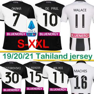 اودينيزي لكرة القدم الفانيلة DE PAUL 2020 2021 رودريغو BECAO اوكاكا كرة القدم قميص NESTOROVSKI 2019 اودينيزي اللازانيا كرة القدم قميص 20 21