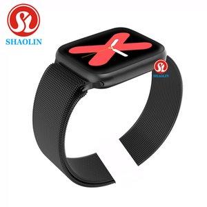 44mm Smart Watch Series 5 für Apple Watch Android-Telefon mit Herzfrequenz-Monitor Bluetooth Smartwatch-Update PK IWO 10 11 12 1: 1