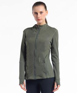 2021 Women Sportswear Zipper Quick Dry Sport Jacket Outwear Yoga Gym Professional polyester Snow running clothing