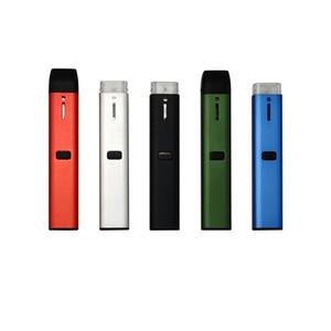 OEM Disposable Vape Pen Lead Free 1ML Empty Pod Device Preheat Rechargeable 210mAh E Cigarettes Vape Battery Closed Pod System Starter Kits