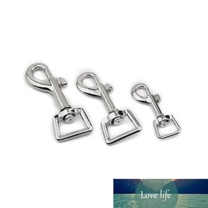 2 Pieces of DIY Metal Keychain Bag Accessories Simple Pure Silver Keychain Zinc Alloy High-end Key Ring Pendant Accessories