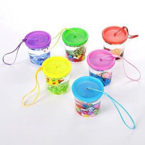 Betta Cup Jellyfish Cup Betta Fish Tank Plastic Fish Tank Mini Small Transparent Plastic with Lid Cup Fish Tank 229 G2