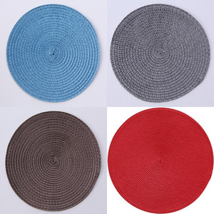 Weaving Mat Cup Insulation Round Coaster PP Manual Pads Decoration Bowl Rattan Placemat Kitchen Tables Accessories 1 6hj K2