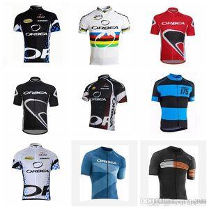 Orbea Men Велоспорт Джерси Короткие рукава Летние Велосипедные Рубашки Велоспорт Одежда Велосипед Носить Удобные Дышащие велосипедные Джетки S21021832