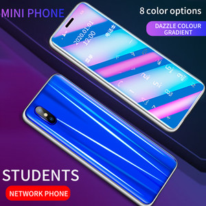 Unlocked Mini Card Mobile Phone Portable Ultra-thin Small No Network Student Quit Internet Addiction Dual Sim card Backup Cellphone R11