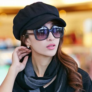 Newsboy Caps New Arrive Women Newsboy Gatsby Cap Octagonal Baker Peaked Beret Driving Hat Female Hats Painter Tour cap