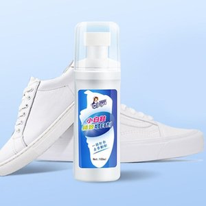 1pc White Shoes Cleaner Whiten Refreshed Polish Cleaning Tool For Casual Leather Shoe Sneakers TB Shoe Brushes LJ201125