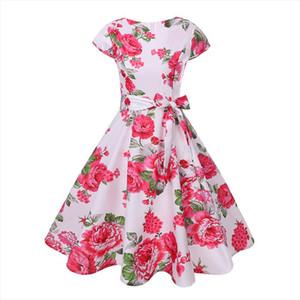 Good fabric 2020 New Design Hot Sale Women Dress Vintage Party Korean Knitted Asymmetric Kawaii Work New Gothic Office 50504