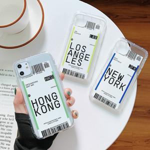 Case iPhone SE 2020 6S 7 8 زائد X XS MAX XR 11 12 Mini Pro Max Case تذاكر الهواء غطاء الهاتف